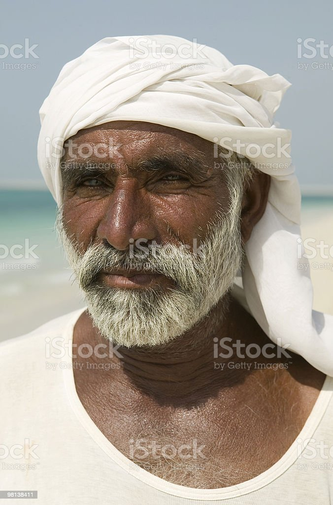 The last fisherman royalty-free stock photo