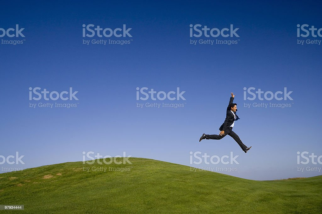 The last giant step royalty-free stock photo