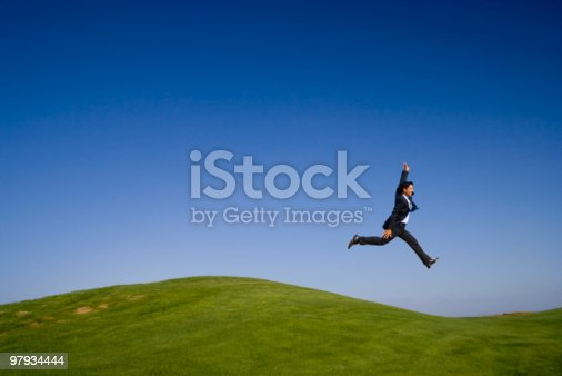 The Last Giant Step Stock Photo & More Pictures of Achievement