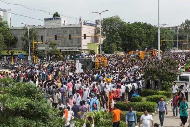 The Last Walk of Atal Bihari Vajpayee 1 stock photo