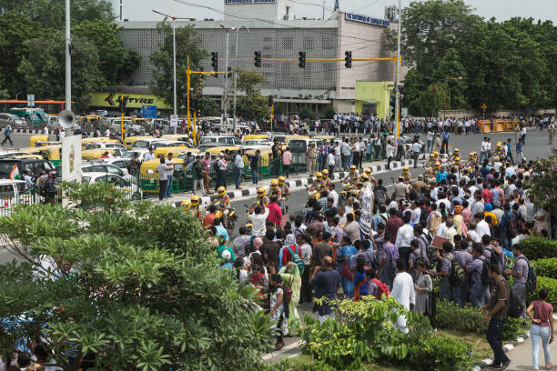 The Last Walk of Atal Bihari Vajpayee stock photo