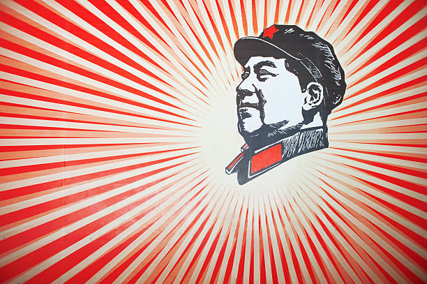 The late leader MAO zedong portrait The late leader MAO zedong portrait mao tse tung stock pictures, royalty-free photos & images