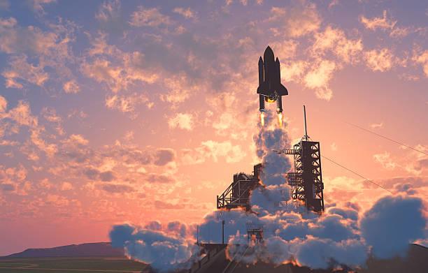 der launch - kennedy space center stock-fotos und bilder