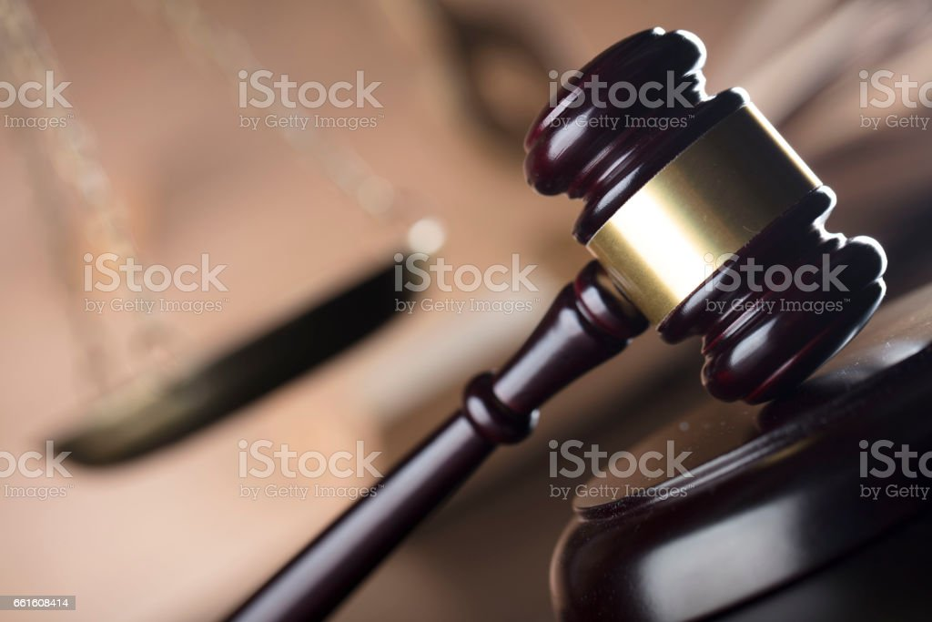 The law stock photo