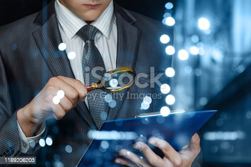 istock The lawyer examines the case . 1169206203