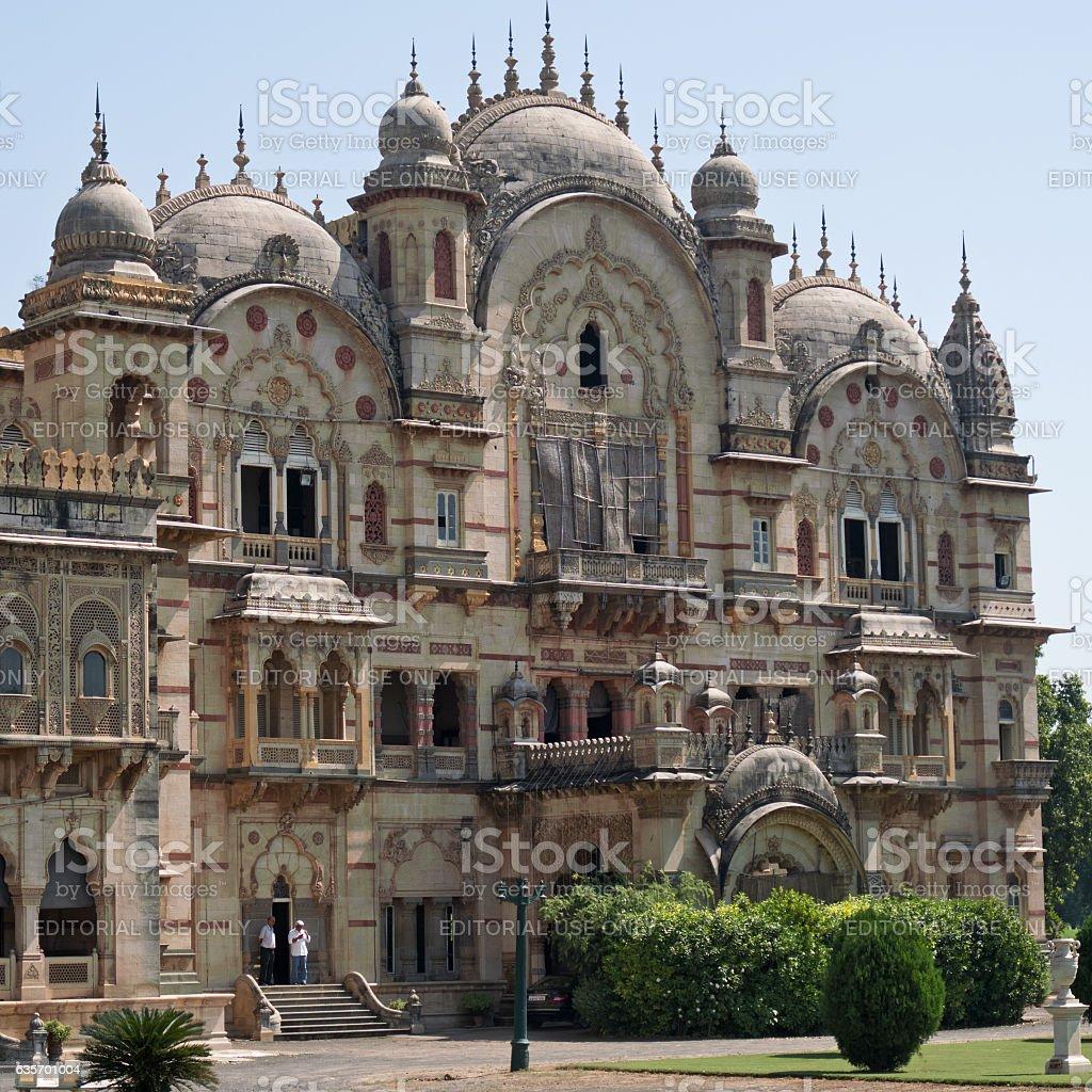 The Laxmi Vilas palace at Vadodara, India royalty-free stock photo