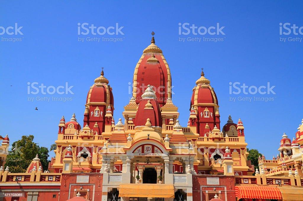 The Laxminarayan Temple royalty-free stock photo