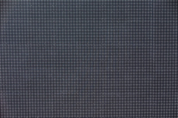 the led screen in macro mode. - grid pattern stock photos and pictures