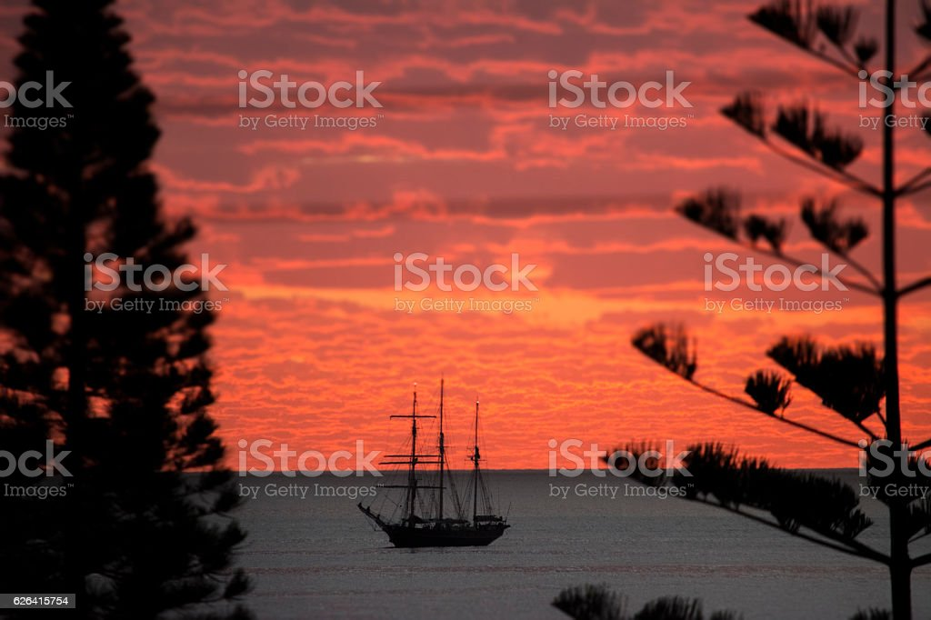 The Leeuwin Sky stock photo
