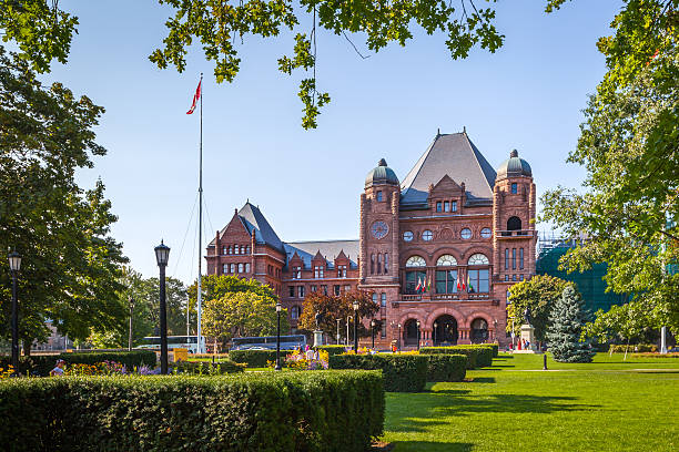 The Legislative Building, Toronto, Canada stock photo