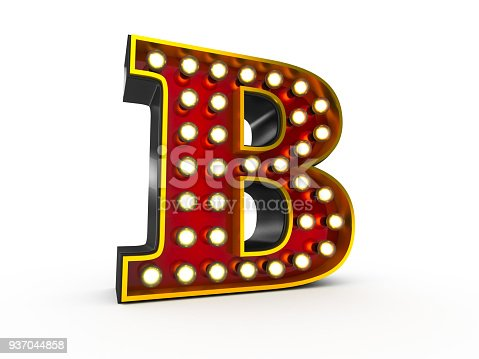 istock The letter B 937044858