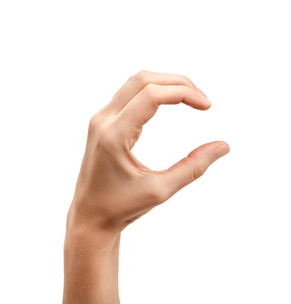 a letra c usar linguagem por sinais americana - c - fotografias e filmes do acervo