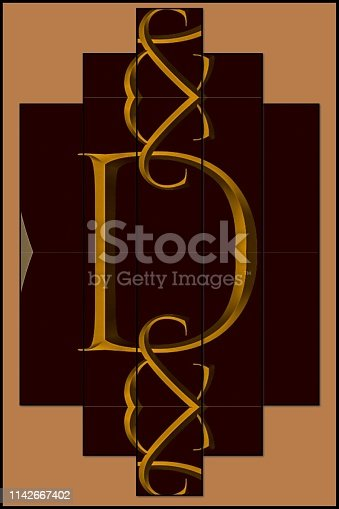 184385936istockphoto The letter D in gold digital background graphic 1142667402