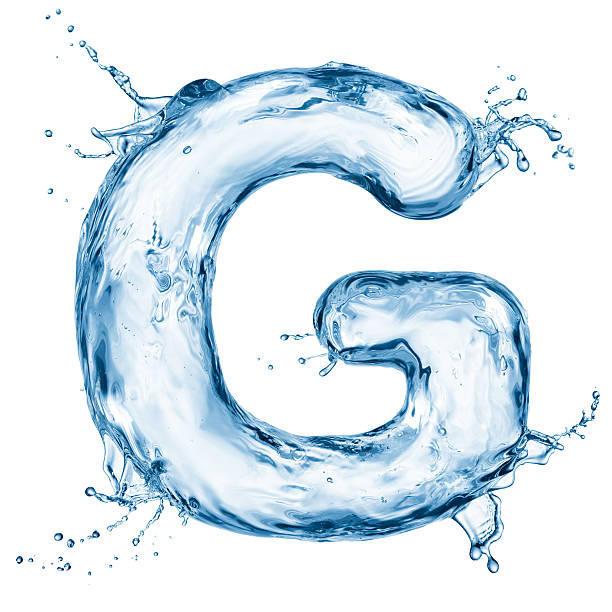 Royalty free water fonts pictures images and stock photos istock the letter g formed with water drops illustration stock photo altavistaventures Images