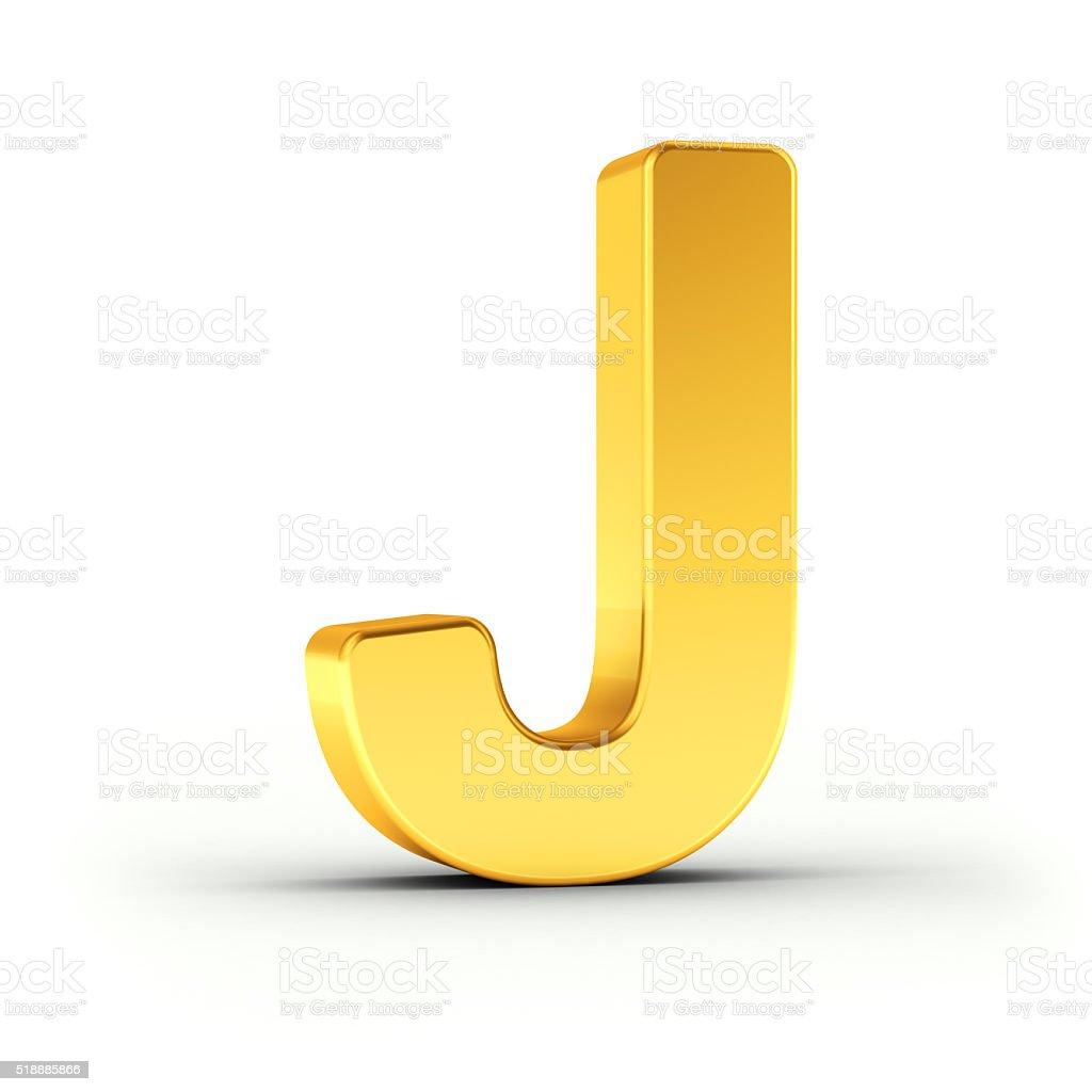Litera J Jako Polerowanego Złota Obiektu Stockowe Zdjęcia I Więcej