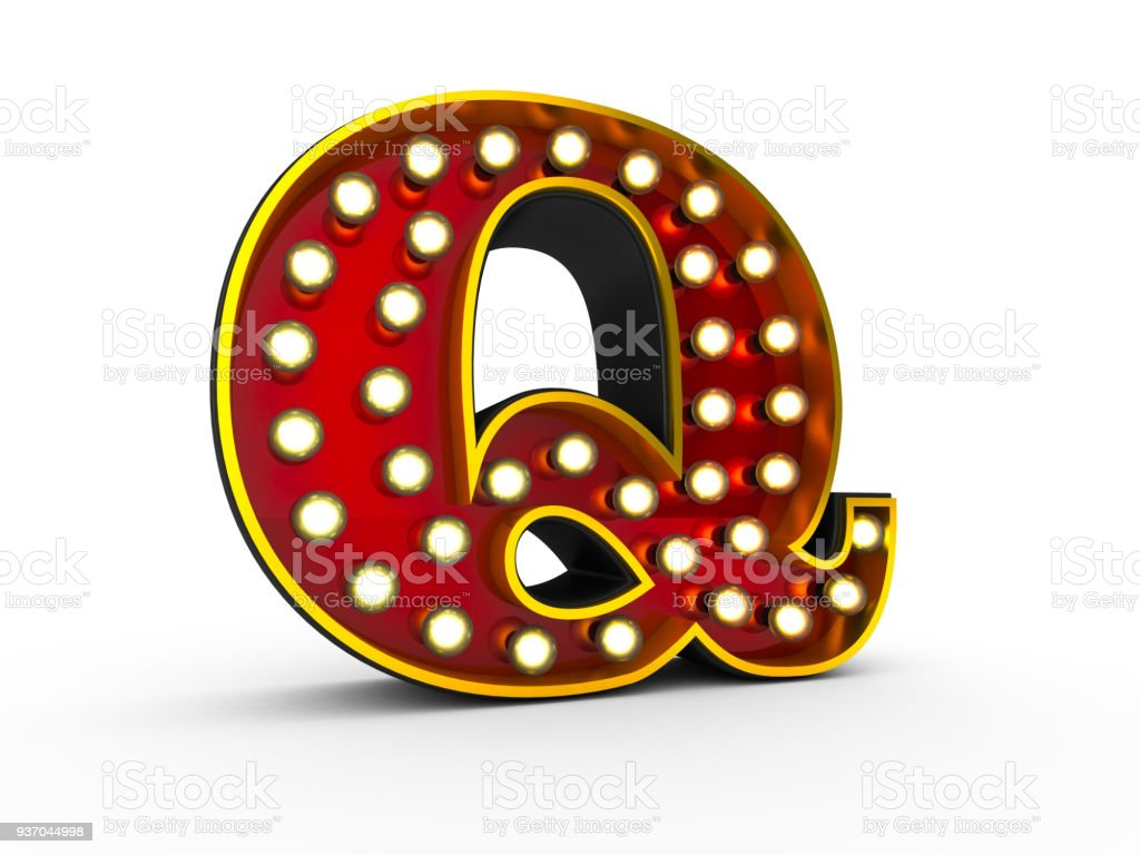 the letter q royalty free stock photo