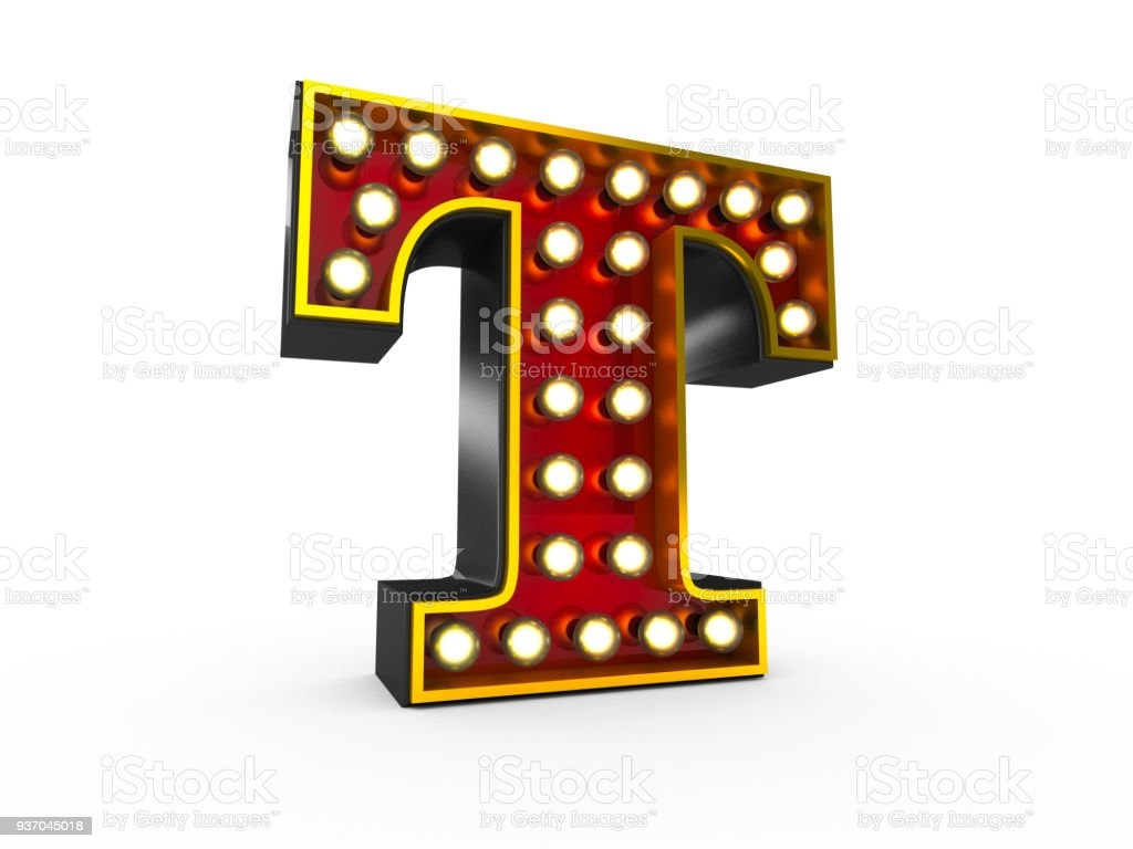 The Letter T Stock Photo More Pictures Of Bright Istock