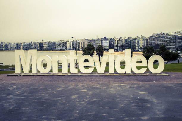 Der Letterman mit dem Namen von Montevideo, Montevideo, Uruguay. – Foto