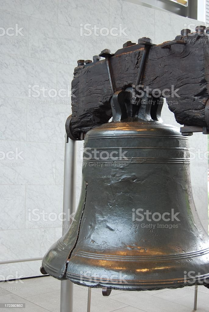 The Liberty Bell royalty-free stock photo