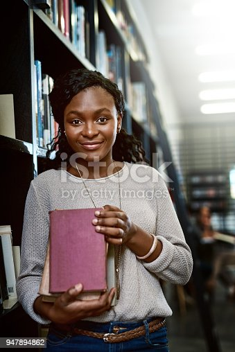 istock The library aka the hub of the school 947894862