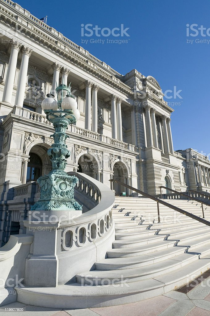 The Library of Congress stock photo