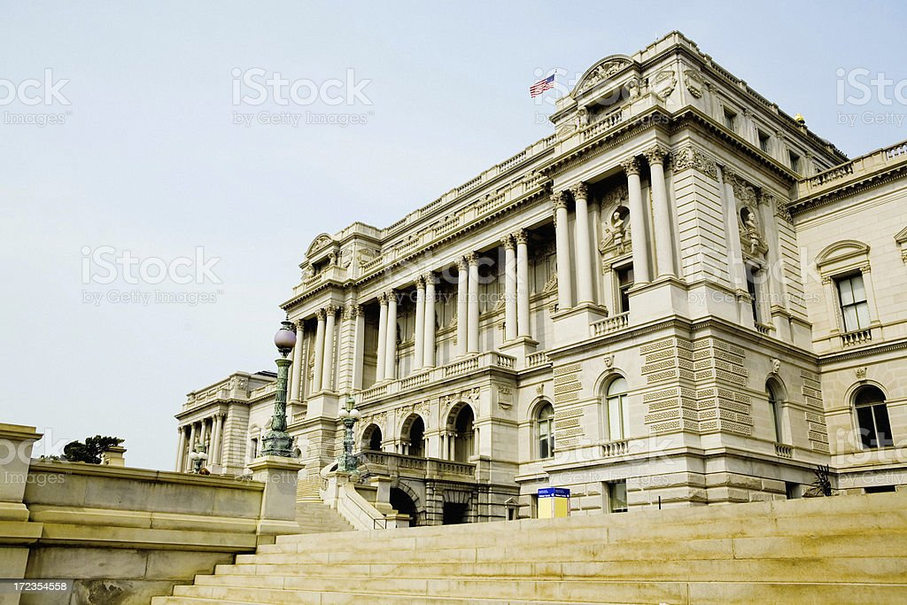 The Library Of Congress royalty-free stock photo
