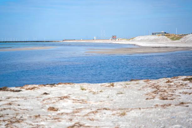 livvaktshuset på sanddyn vid skanor, skånes strand - sand dune sweden bildbanksfoton och bilder