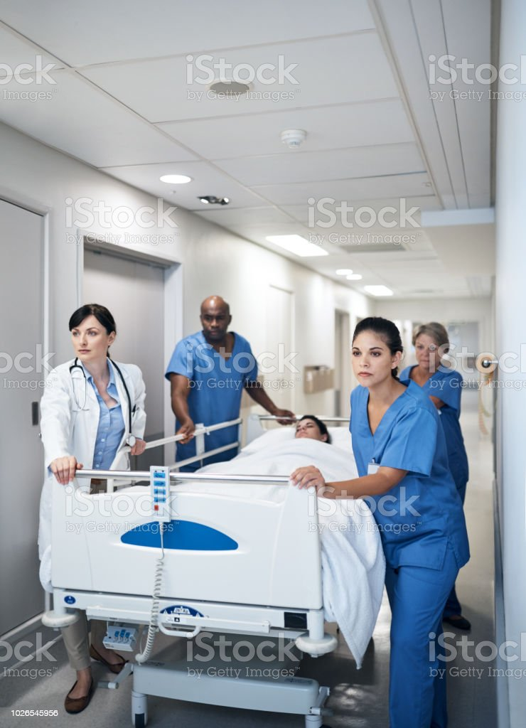 Das Leben eines Arztes ist rasant – Foto