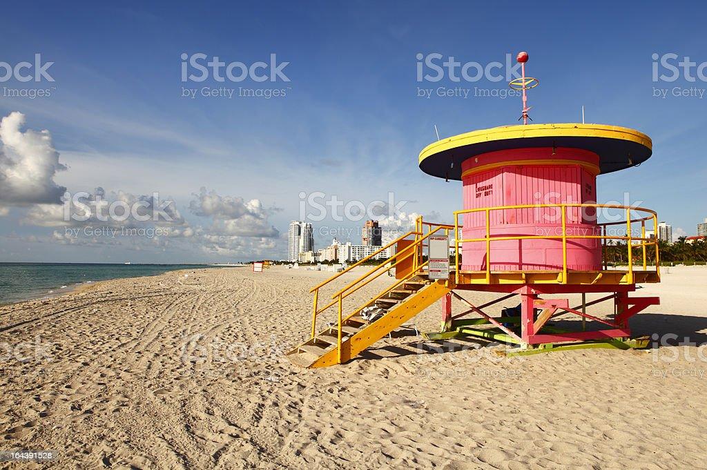 Miami Beach Budka ratownika – zdjęcie