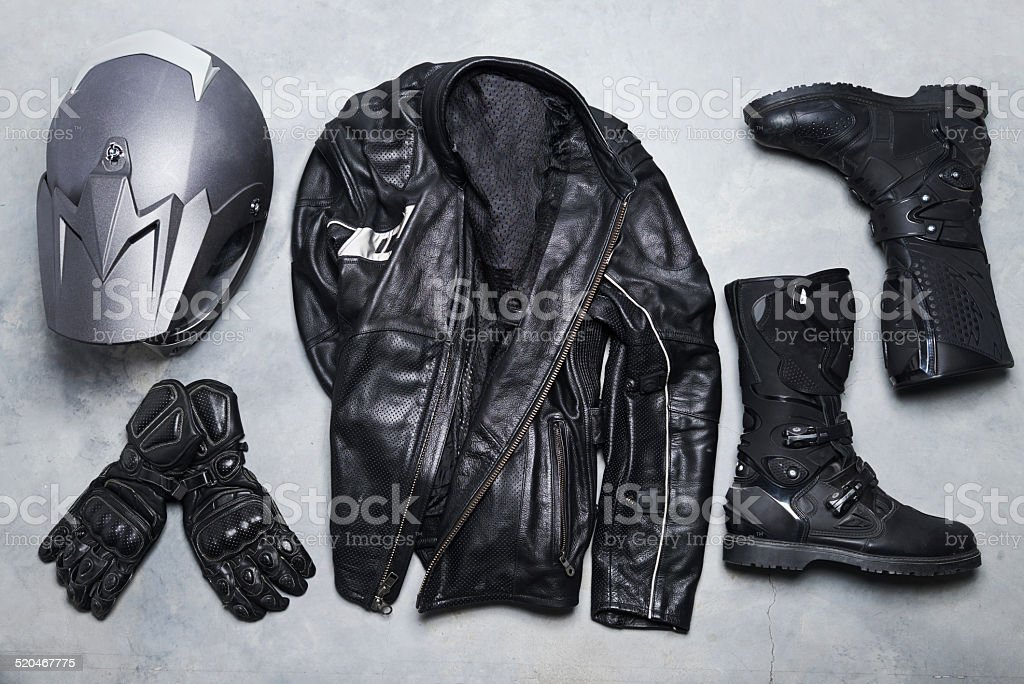 The lifestyle of a rider stock photo
