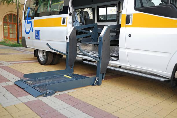 Der Aufzug für Rollstühle – Foto