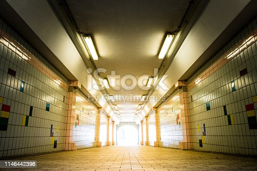 611897876istockphoto The light at the end of tunnel. 1146442398