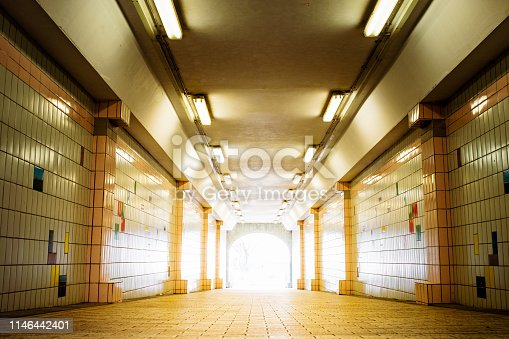 611897876istockphoto The light at the end of tunnel. 1146442401