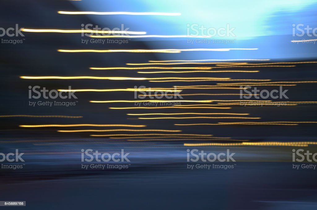 The light traces stock photo
