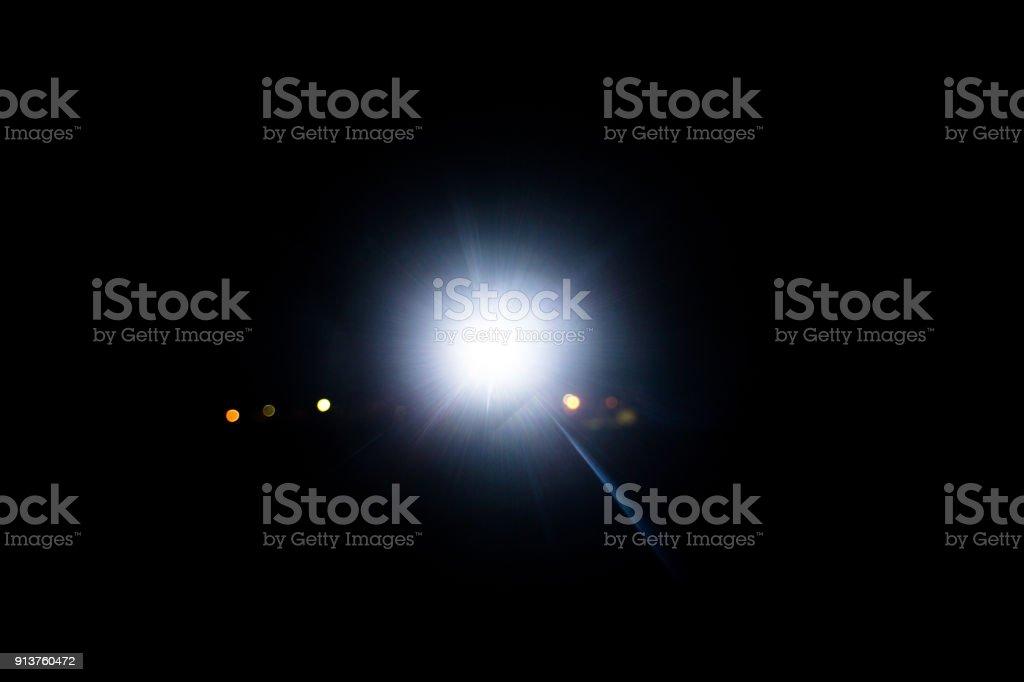 das Licht, im Dunkeln – Foto