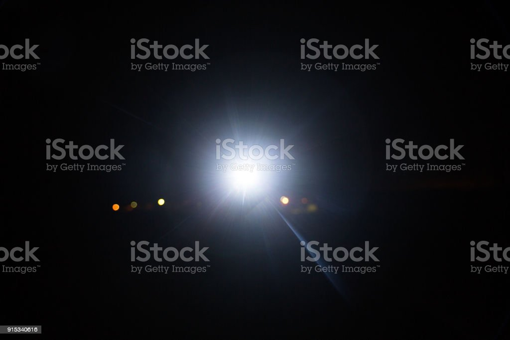 the light which in dark stock photo