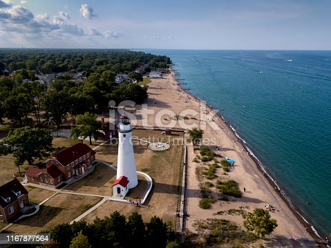 The oldest lighthouse on the Great Lakes was the first lighthouse on Lake Huron