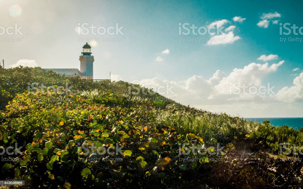 El faro stock photo