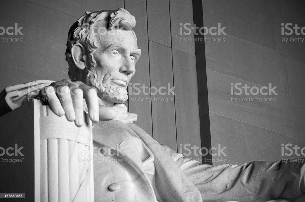 The Lincoln Memorial royalty-free stock photo