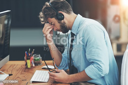 658516626 istock photo The lines are blowing up and so is his head 1022106434