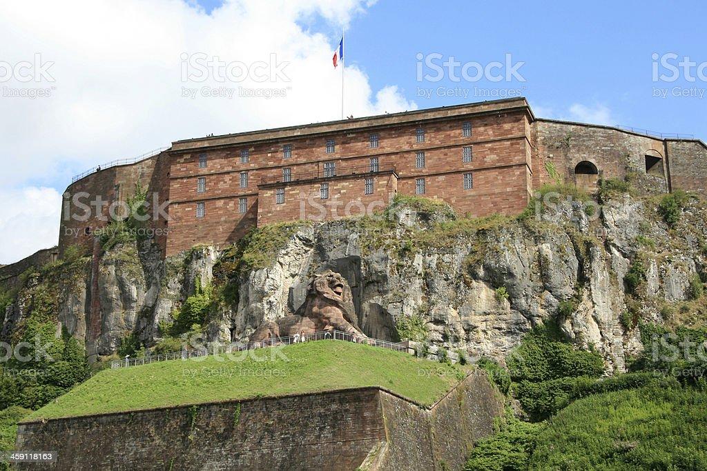 The Lion of Belfort stock photo