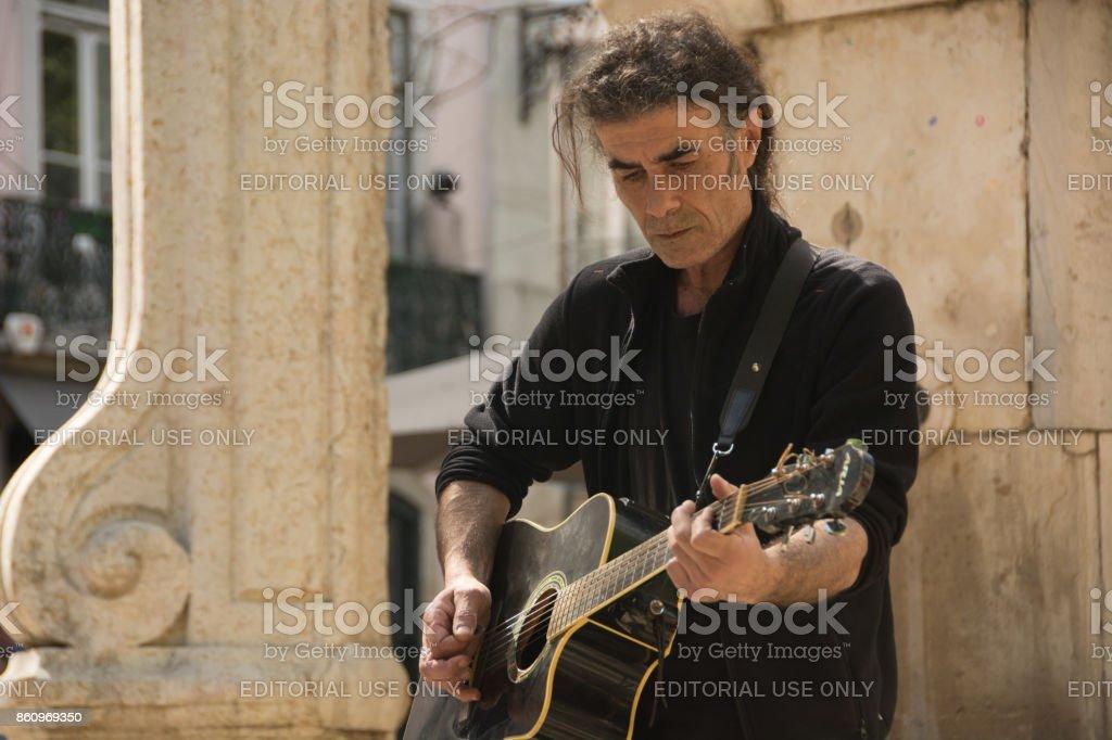 The Lisboa Musicians III stock photo