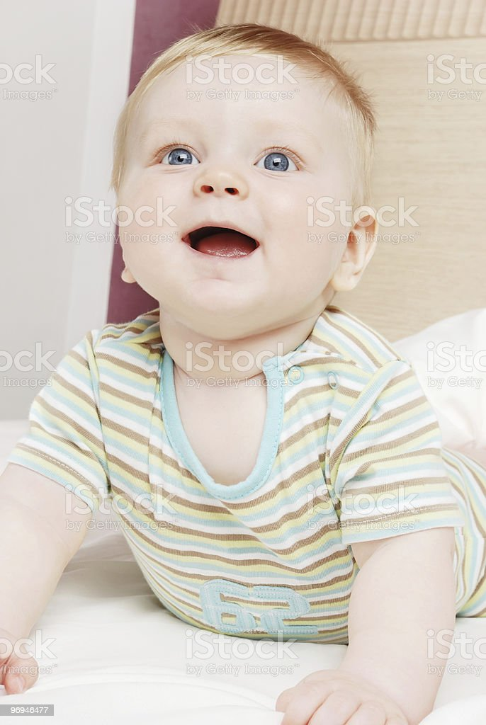 The little boy royalty-free stock photo