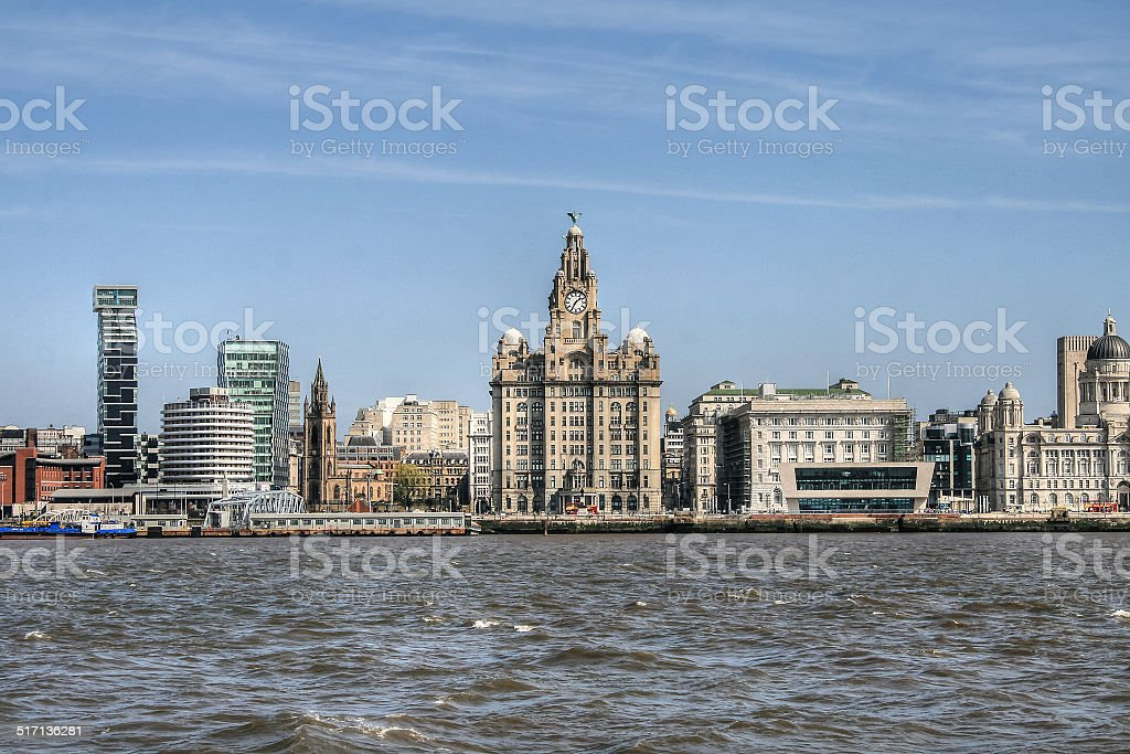 The Liver Building - Royalty-free Architecture Stock Photo