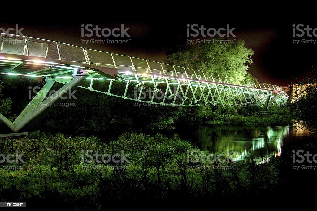 The Living Bridge stock photo