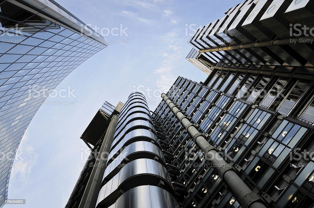 The Lloyd's buidling stock photo
