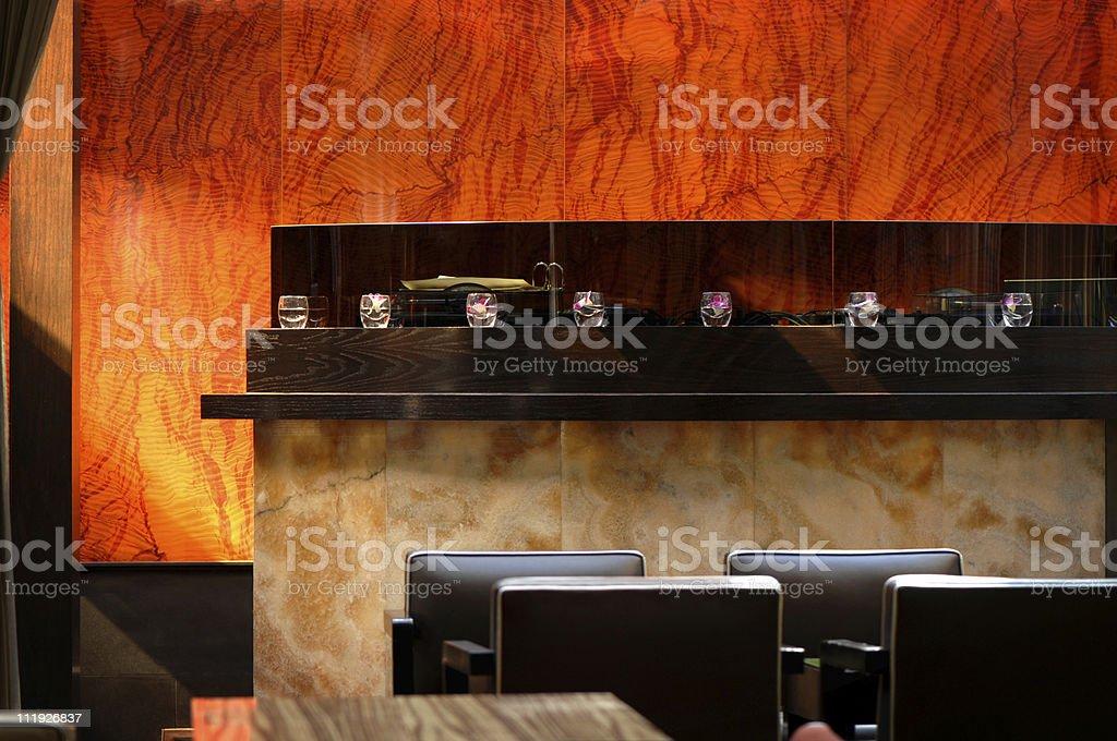 The Lobby Bar royalty-free stock photo