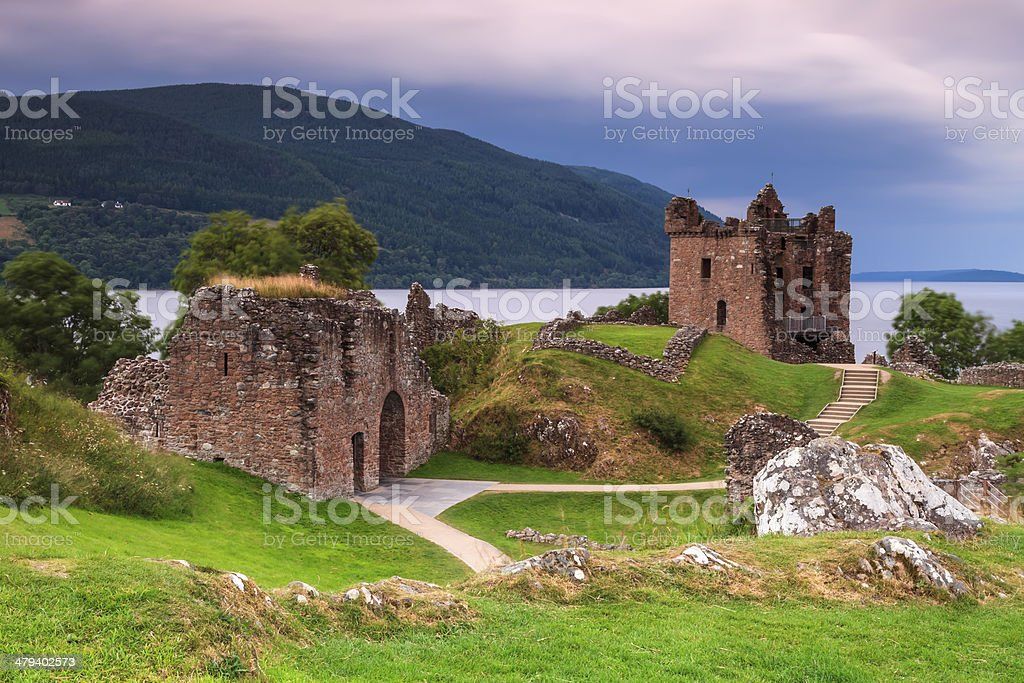 The Loch Ness stock photo