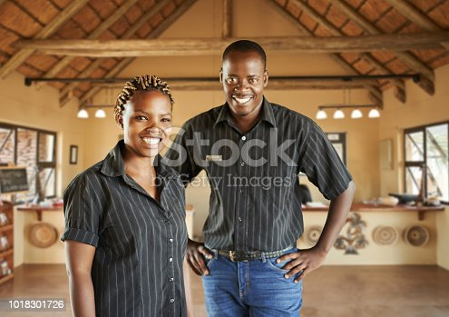 istock The lodge with the best service 1018301726