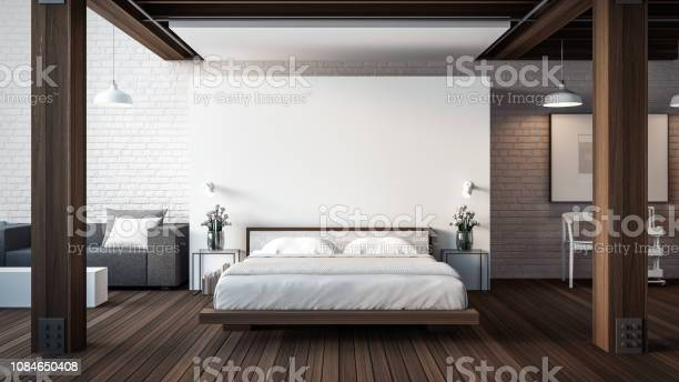 The loft modern bedroom 3d render interior picture id1084650408?b=1&k=6&m=1084650408&s=612x612&h=4rn9rm7bl4zjtsha l06qqc4bi1m 5oelidgibjm0rk=